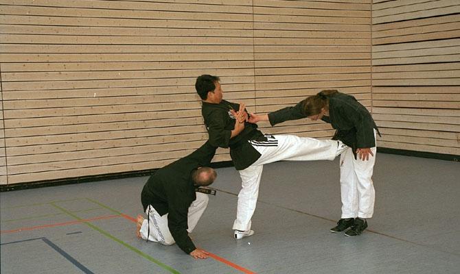 Koreanische Kampfkunst - Hapkido